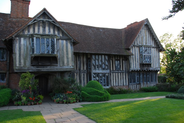 The old part of Dixter, dating back to 1460