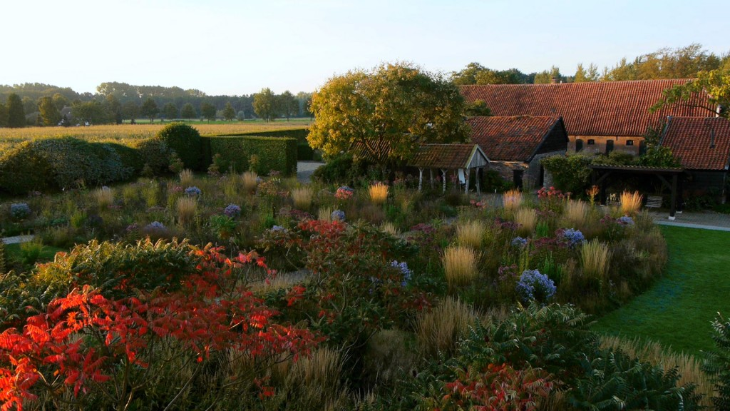 Piet Oudulf's own garden in The Netherlands